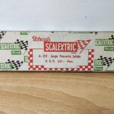 Scalextric: CAJA JUEGO PANCARTA SALIDA A-212 SCALEXTRIC EXIN. Lote 269489738