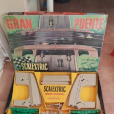 Scalextric: GRAN PUENTE AMPLIABLE SCALEXTRIC EXIN. Lote 269492243
