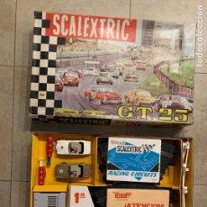 Scalextric: CAJA CIRCUITO GT 21 CON 2 MERCEDES. Lote 269959918