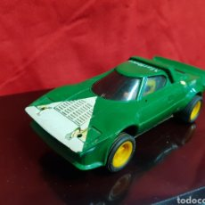 Scalextric: LANCIA STRATOS SCALEXTRIC, VERDE REFERENCIA 4055.. Lote 270361543