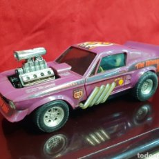 Scalextric: SCALEXTRIC FORD MUSTANG DRAGSTER LILA EXIN REF. 4049. PARA REPARAR O PIEZAS. Lote 270363498