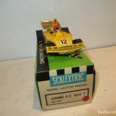 Scalextric: SCALEXTRIC FERRARI B3 AMARILLO EN SU CAJA COMPLETO TODO ORIGINAL,BARATO. Lote 270399973