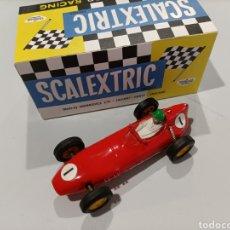 Scalextric: SCALEXTRIC TRIANG UK. LOTUS C54 ROJO EN MUY BUEN ESTADO. CON CAJA.. Lote 274016233