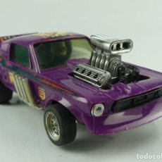 Scalextric: SCALEXTRIC FORD MUSTANG DRAGSTER LILA REF. 4049. Lote 275738068