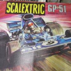 Scalextric: GRAN LOTE SCALEXTRIC GP-51 FINALES AÑOS 70' PISTAS COCHES CATALOGOS MANDOS TRANFORMADORES. Lote 275950528