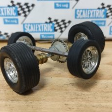 Scalextric: EJES CHEVROLET CORVETTE / FORD MUSTANG SCALEXTRIC EXIN. Lote 276439713