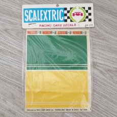 Scalextric: RACING CARS DECAL CALCAS DE SCALEXTRIC EXIN REFERENCIA 4238. Lote 277196923