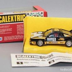 Scalextric: LANCIA 037 OLIO FIAT ORIGINAL SCALEXTRIC EXIN ¡NUEVO Y EN SU CAJA ORIGINAL!. Lote 278698498