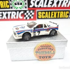 Scalextric: SCALEXTRIC LANCIA RALLY 037 EXIN. Lote 283898198
