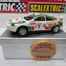 Scalextric: SCALEXTRIC TOYOTA CELICA DESCRIPCION!!. Lote 283907133