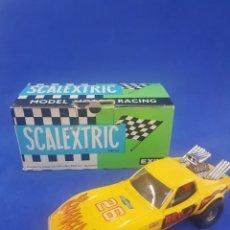 Scalextric: SCALEXTRIC COCHE CHEVROLET CORVETTE REF 4050, AÑOS 1970. Lote 285286283