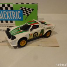 Scalextric: SCALEXTRIC. EXIN. LANCIA STRATOS BLANCO. 1º SERIE. REF. 4055. Lote 287070023