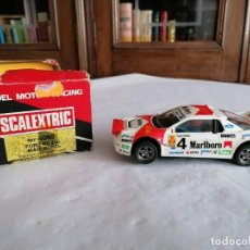 Scalextric: SCALEXTRIC EXIN 1/32 4080 FORD RS 200 MARLBORO OVP. Lote 287592628