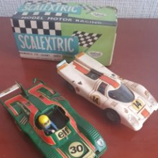 Scalextric: LOTE SCALEXTRIC. Lote 287604013