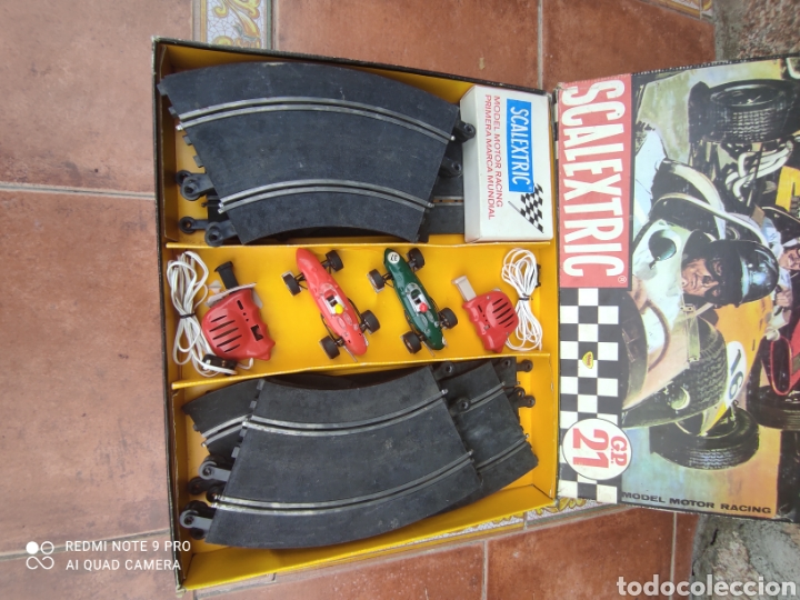 CIRCUITO SCALEXTRIC GP 21 (Juguetes - Slot Cars - Scalextric Exin)