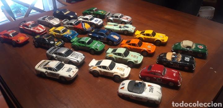 LOTE SLOT 23 PORSCHE SCALEXTRIC COLECCION PARTICULAR (Juguetes - Slot Cars - Scalextric Exin)