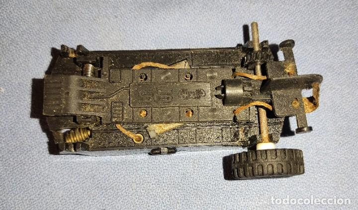 CHASIS CON MOTOR STS SCALEXTRIC 4X4 ORIGINALES AÑOS 80 (Juguetes - Slot Cars - Scalextric Exin)