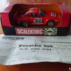 Scalextric: SCALEXTRIC EXIN PORSCHE 959,EN CAJA BUEN ESTADO Y ORIGINAL. Lote 287846448