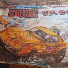 Scalextric: SCALEXTRIC GP 65 COMPLETO CON DOS COCHES. EN FUNCIONAMIENTO. Lote 287881163