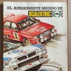 Scalextric: GUÍA DEL SCALEXTRISTA AÑO 1985. EL APASIONANTE MUNDO DE SCALEXTRIC, 28 PAGINAS. SIN USAR. EXIN.COLOR. Lote 287893063