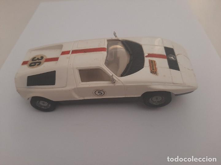 COCHE MERCEDES C-111 .SCALEXTRIC.MADE IN SPAIN.FUNCIONANDO. (Juguetes - Slot Cars - Scalextric Exin)