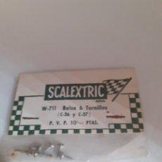 Scalextric: SCALEXTRIC EXIN BOLSITA TORNILLOS C 36 C 37 BRM , HONDA ORIGINAL. Lote 287998913