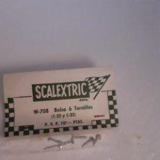 Scalextric: SCALEXTRIC EXIN BOLSITA TORNILLOS C 32 C33 MERCEDES ORIGINAL. Lote 288001888