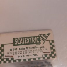 Scalextric: SCAL3XTRIC EXIN BOLSITA TORNILLOS GUIA VARIOS MODELOS ORIGINAL.. Lote 288002808