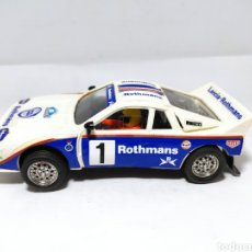 Scalextric: SCALEXTRIC LANCIA 037 ROTHMANS EXIN. Lote 288026003
