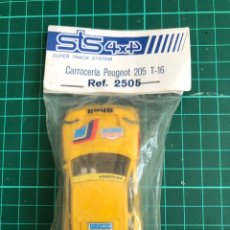 Scalextric: BLISTER ORIGINAL PEUGEOT 205 STS. Lote 288211853