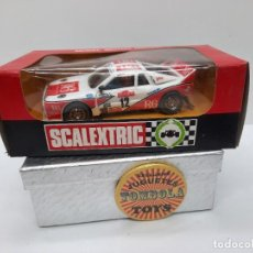 """Scalextric: SCALEXTRIC LANCIA 037 """" R-6 """" CON LUZ EXIN EN CAJA. Lote 288645773"""