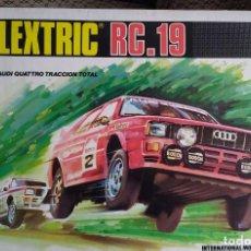 Scalextric: CIRCUITO COMPLETO RC-19 DE SCALEXTRIC/EXIN - COMO NUEVO. Lote 289438078