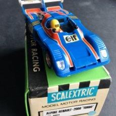 Scalextric: SCALEXTRIC COCHE ALPINE RENAULT 2000 TURBO REF:4053. Lote 289673598