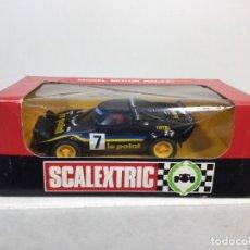 Scalextric: SCALEXTRIC LANCIA S. LE POINT CON SU CAJA EXÍN. Lote 289905263