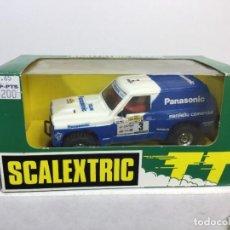 Scalextric: SCALEXTRIC PATROL PANASONIC CON SU CAJA EXÍN. Lote 289905558