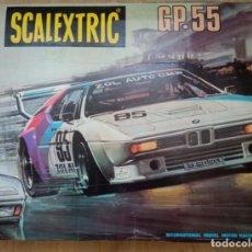 Scalextric: CAJA SCALEXTRIC GP- 55. Lote 293275788