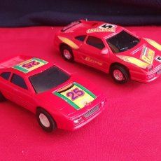 Scalextric: LOTE 2 COCHES SCALEXTRIC MADE IN CHINA. Lote 293604003