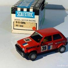 Scalextric: RENAULT 5 COPA REF 4058 EN CAJA EXIN SCX SCALEXTRIC. Lote 293705843