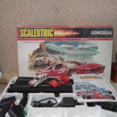 Scalextric: EXIN!!! SCALEXTRIC CORCEGA COMPLETO. Lote 294019868