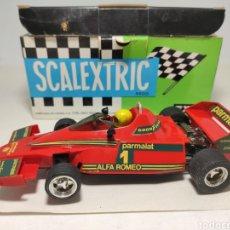 Scalextric: SCALEXTRIC BRABHAM BT46 EXIN ROJO. Lote 294484963