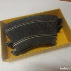 Scalextric: LOTE 8 CURVAS STANDARD SCALEXTRIC AÑOS 70 PT-53 EN CAJA AMARILLA. Lote 295952713