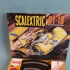 Scalextric: SCALEXTRIC GT-18 EN MINIATURA ESCALA 1/3 CHAPARRAL BLANCO Y VERDE. Lote 296608813