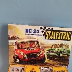 Scalextric: SCALEXTRIC RC-24 EN MINIATURA ESCALA 1/3 MINI COOPER. Lote 296610673