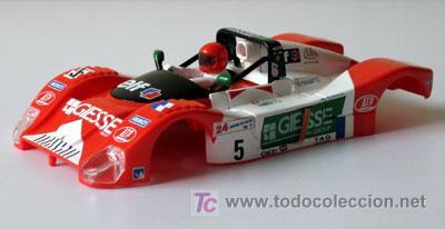 FERRARI 333 SP LE MANS 1998 SCALEXTRIC SOLO CARROCERIA (Juguetes - Slot Cars - Scalextric Pistas y Accesorios)