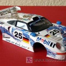 Scalextric: PORSCHE 911 GT1 LE MANS 1996 SCALEXTRIC SOLO CARROCERIA. Lote 27138174