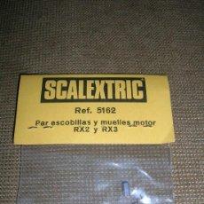 Scalextric: SCALEXTRIC REF.5162 PAR ESCOBILLAS Y MUELLES MOTOR RX2 Y RX3. Lote 27136551