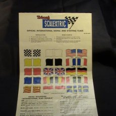 Scalextric: BANDERAS SCALEXTRIC A/235. Lote 208210771