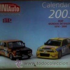 Scalextric: MINIAUTO: CALENDARIO DEL AÑO 2003 (PERFECTO). Lote 12404708