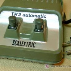 Scalextric: SLOT, CAR, TRANSFORMADOR, TR 2, SCALEXTRIC, 1970S. Lote 15966918