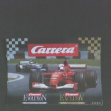 Scalextric: CARRERA: CATALOGO 2003 (16 PAG)(21 X 15 CMS). Lote 30588573